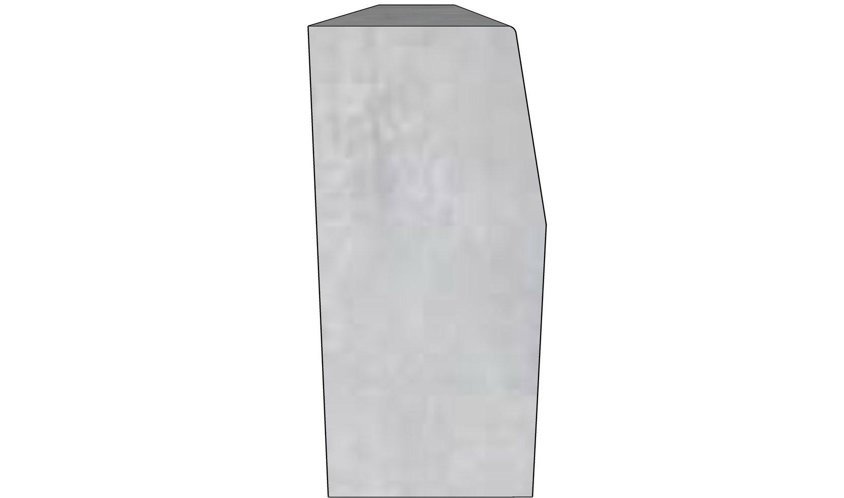 Бордюрный камень БР-100-45-18