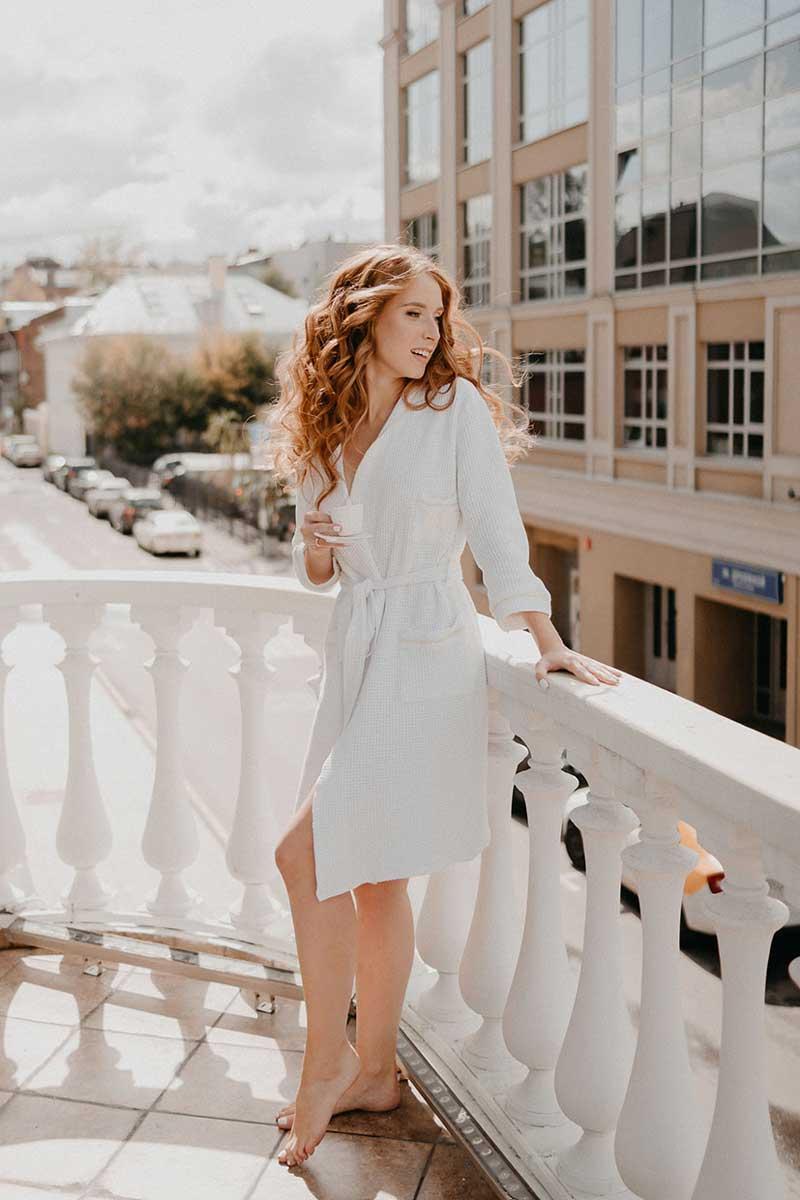 Свадебные локоны для рыжих волос для невесты Юлии