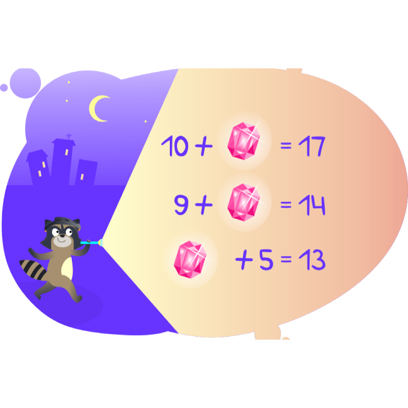Три задачи от енота с натуральными числами