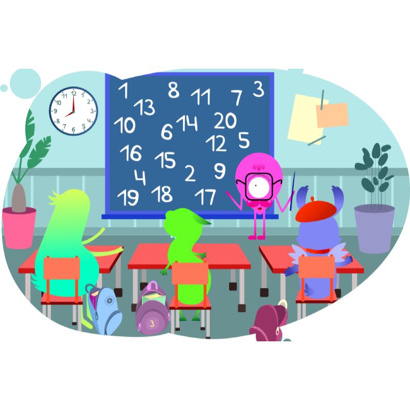 Мудрый Ноль учит решать задачи на деление чисел