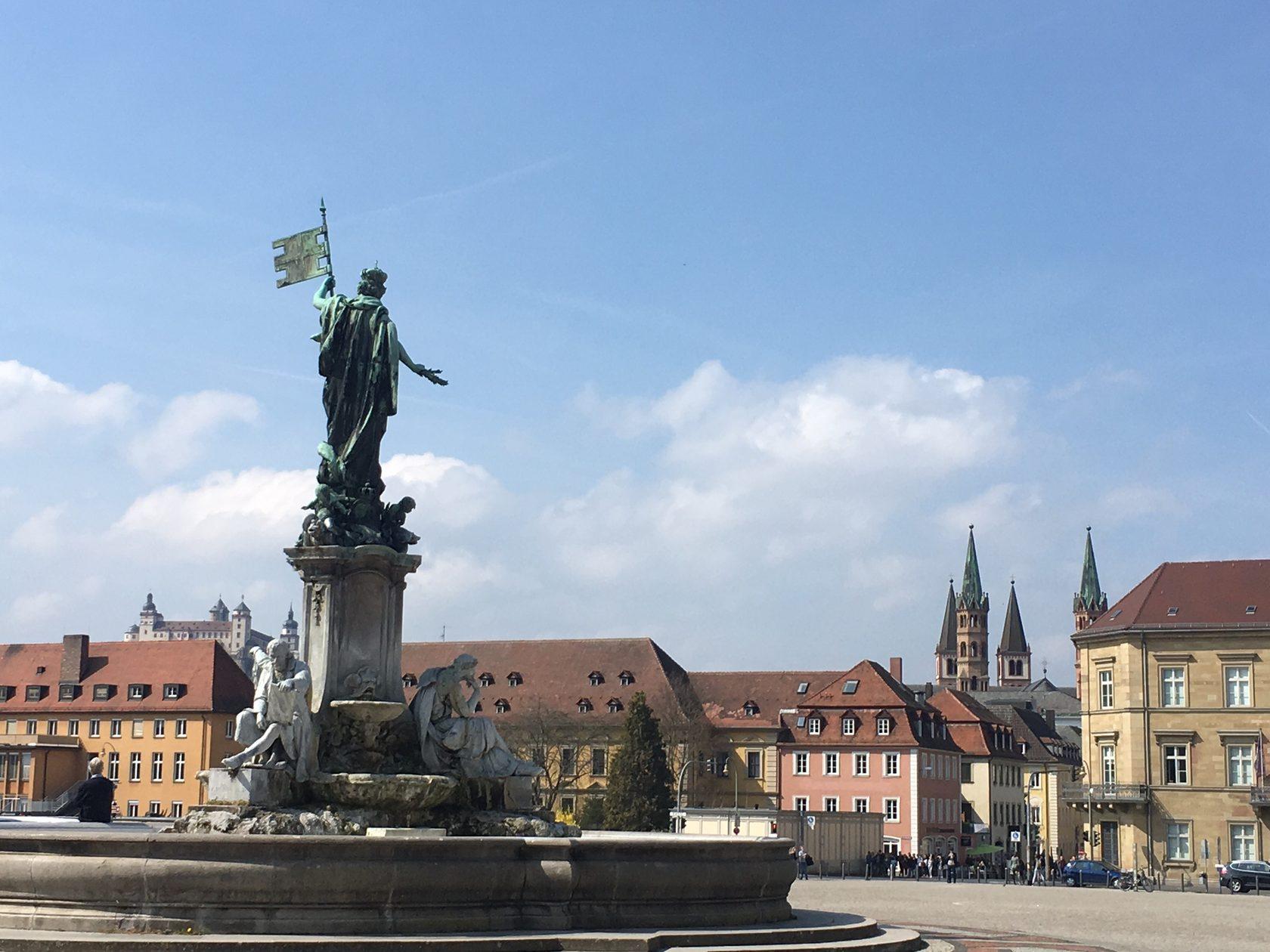 город Вюрцбург бавария германия