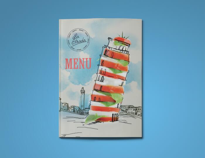 Пример обложки меню Ластрада
