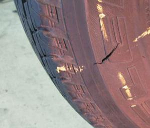 Порезы на шине