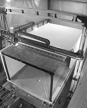 3D Printing. Building panels & volumetric modules. Replace precast moulds.