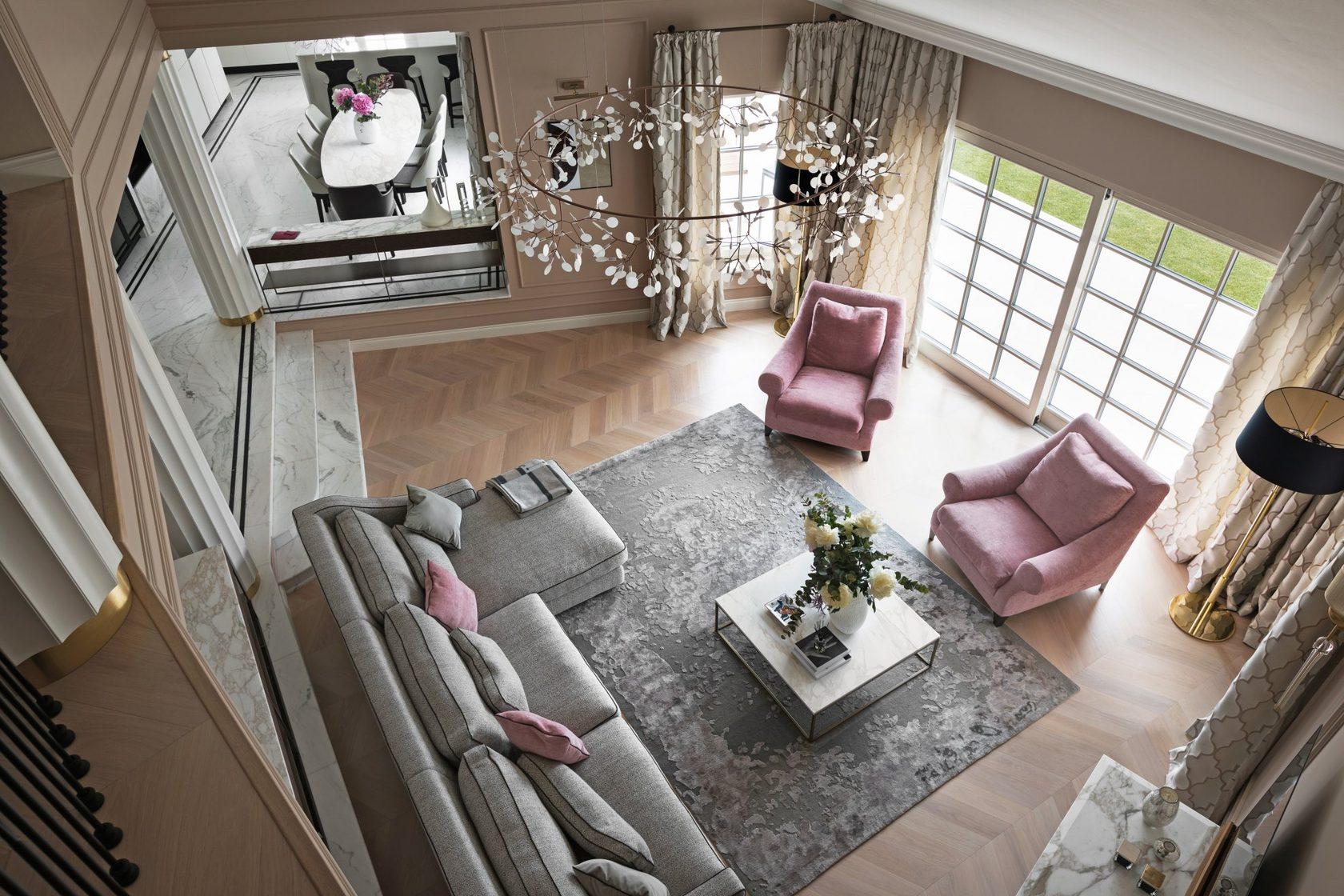 Проект: Private Residence at Roquebrune-Cap-Martin<br />Компанія: Bolshakova Interiors