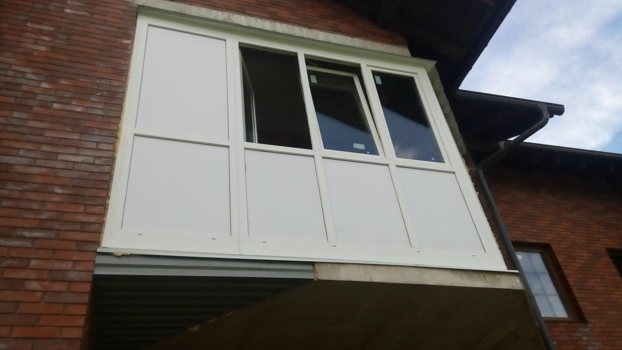 Остекление балкона в королеве стоимость гатчина остекление балконов