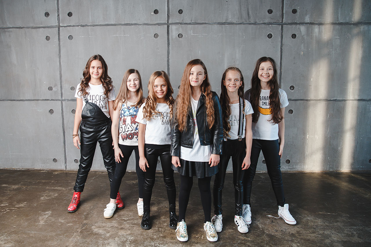 Lollipops Band - a singing band for children Voice Kids