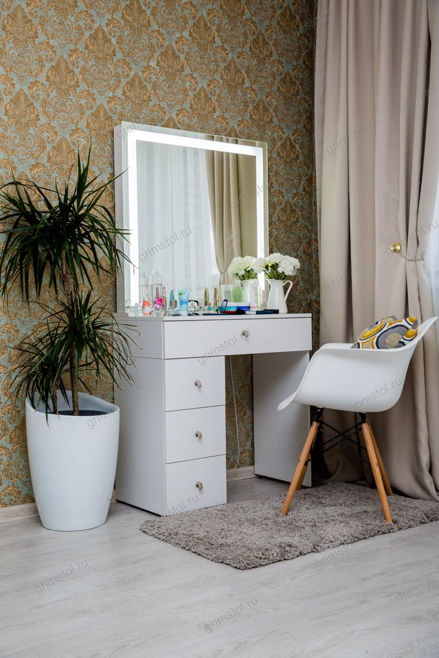Гримерный столик с диодным зеркалом 2.3Д80