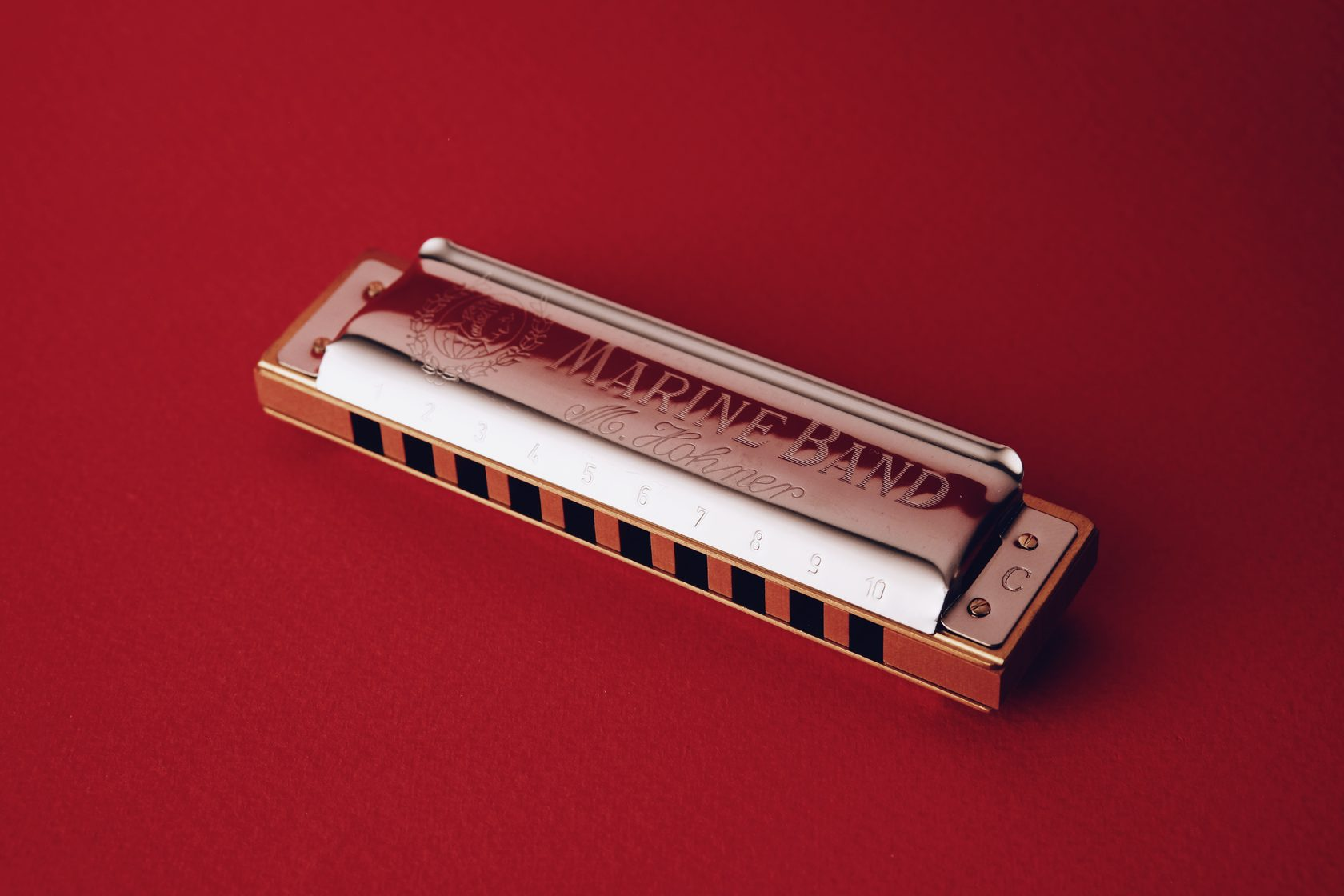 Губная гармоника Hohner Marine Band, губная гармошка, диалогическая гармоника, harmonica, harp, купить в магазине Ukelovers