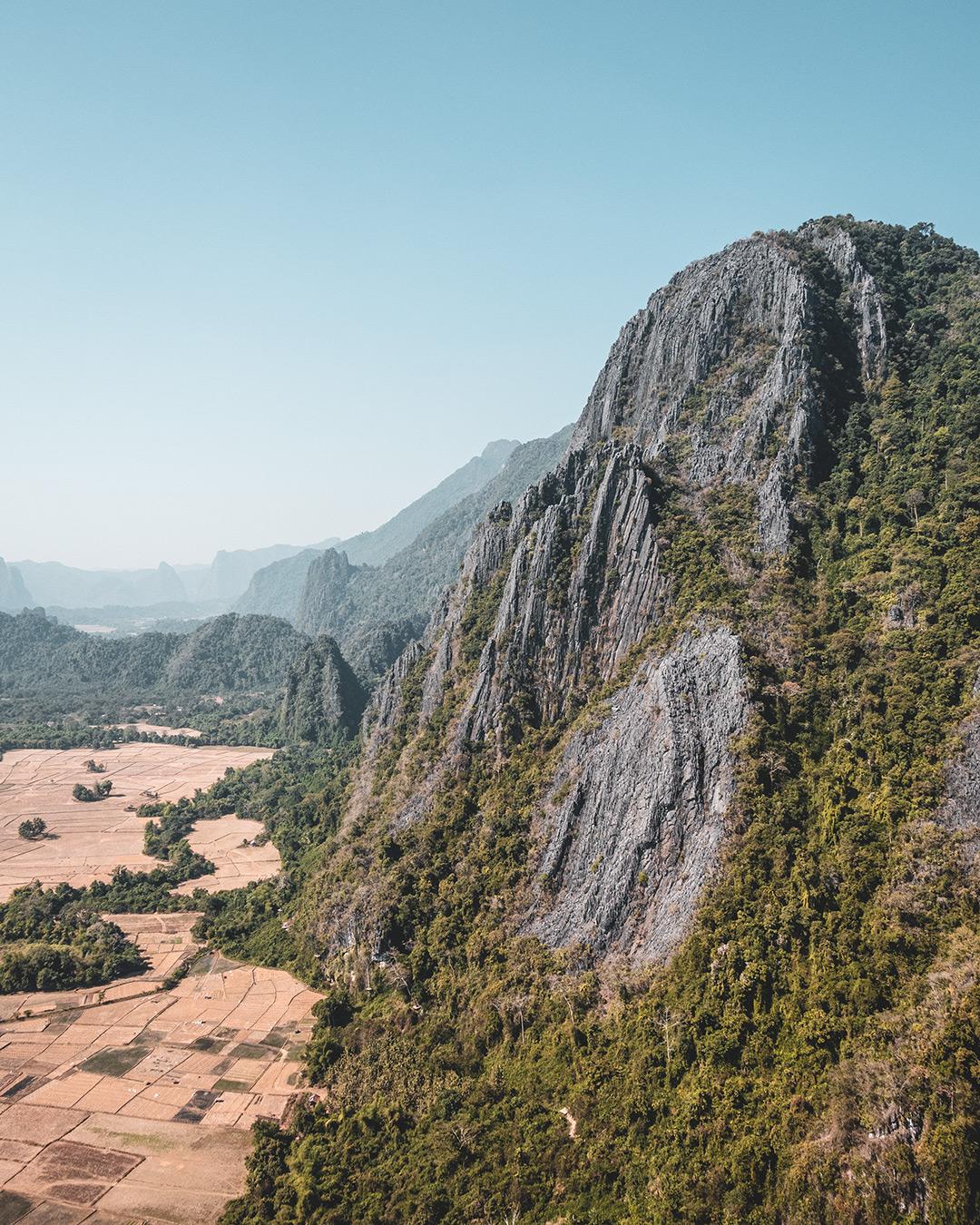 Foto van Instagram Simon Wijers, genomen op reis in Laos