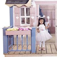 Забор террасы детского домика