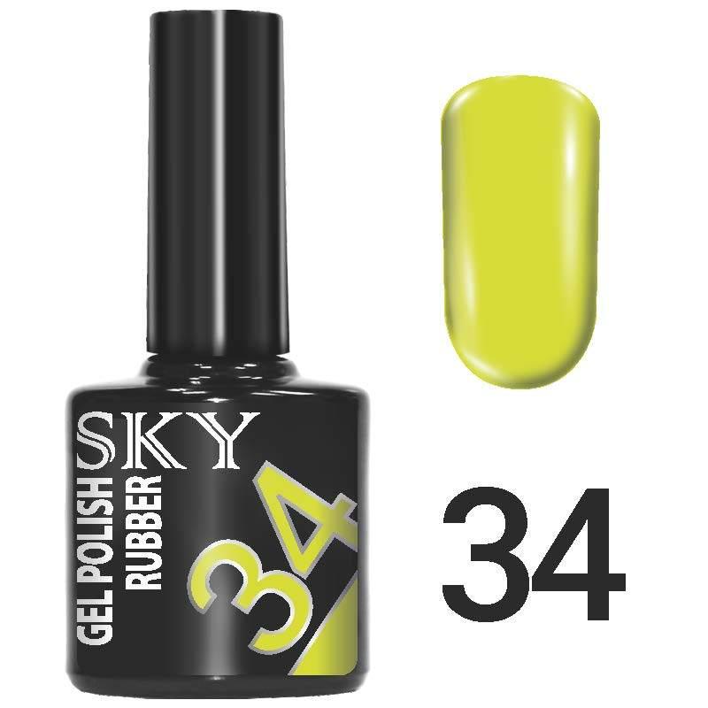 Sky gel №34
