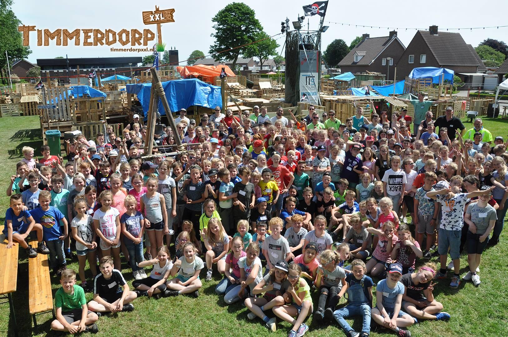 TimmerdorpXXL groepsfoto 2018