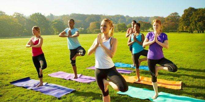 Йога для растяжки
