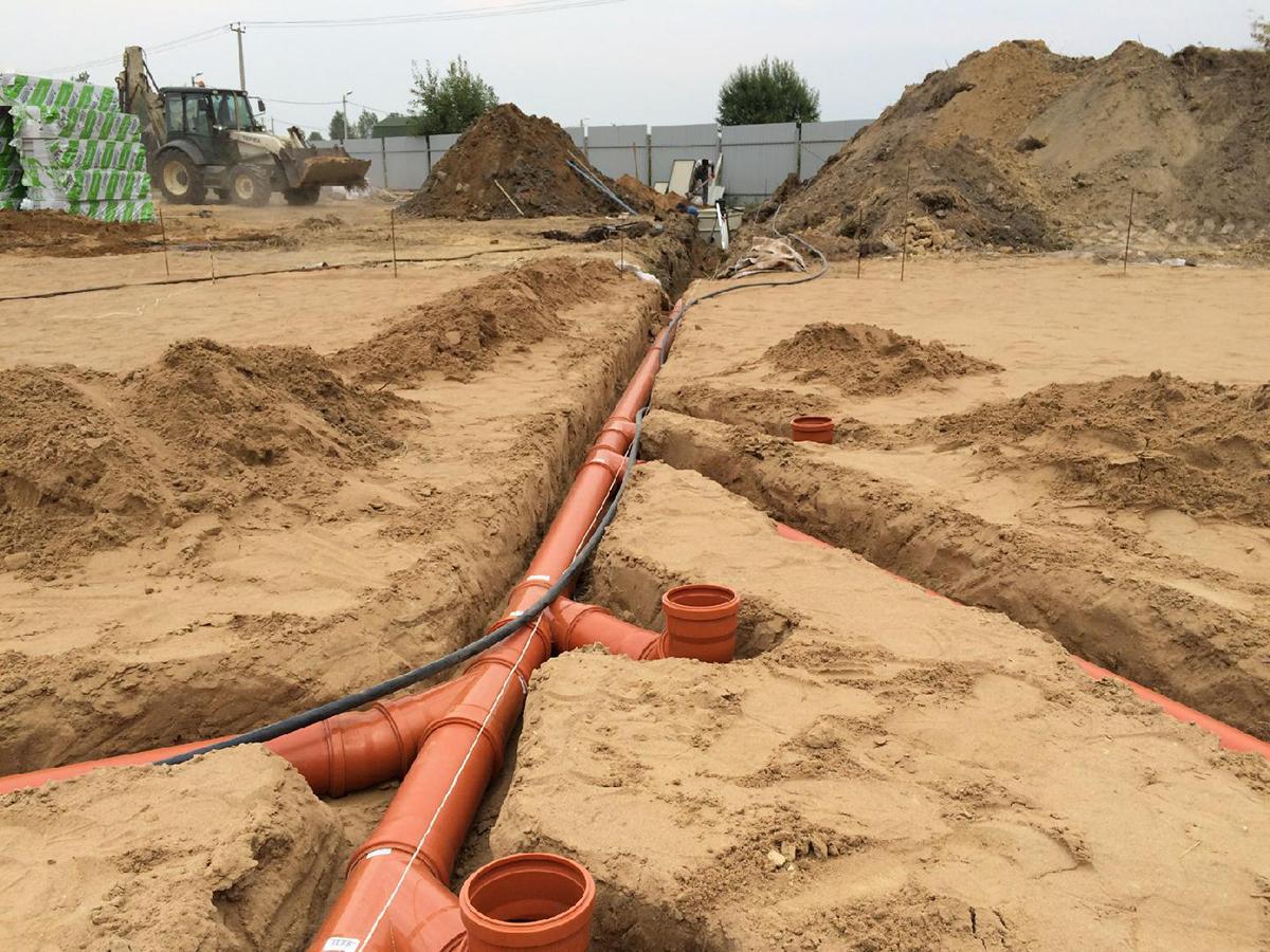 фото систем водоотведения