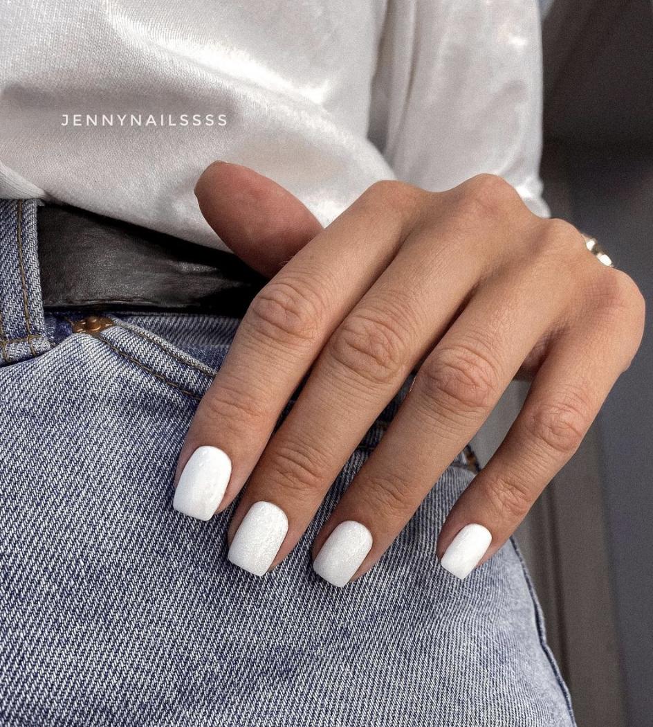 короткие ногти дизайн маникюра