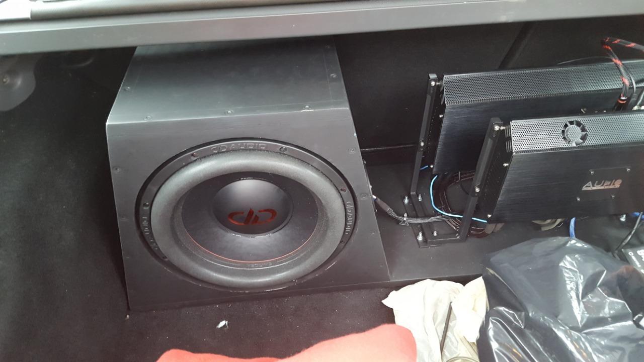 сабвуфер в форд фокус 2