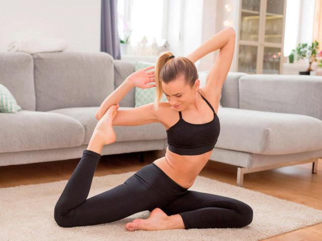 Хатха-йога для среднего уровня