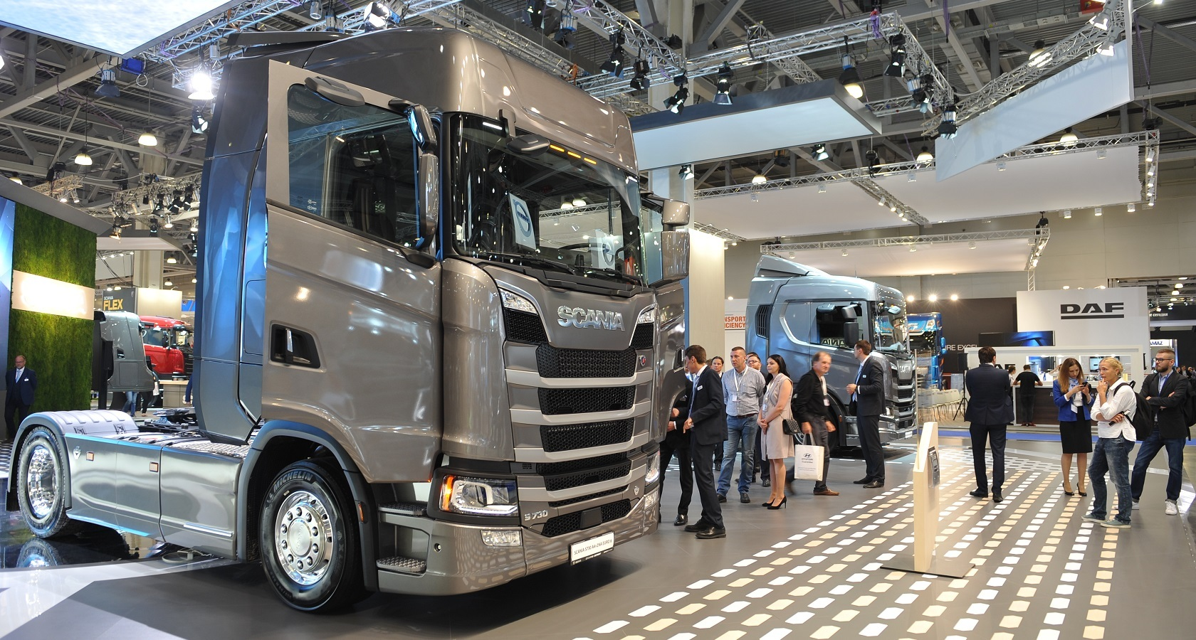 В сентябре прошлого года Scania представила в России свои новейшие модели S500 и R500 (фото: ГиД / Денис Хуторецкий).