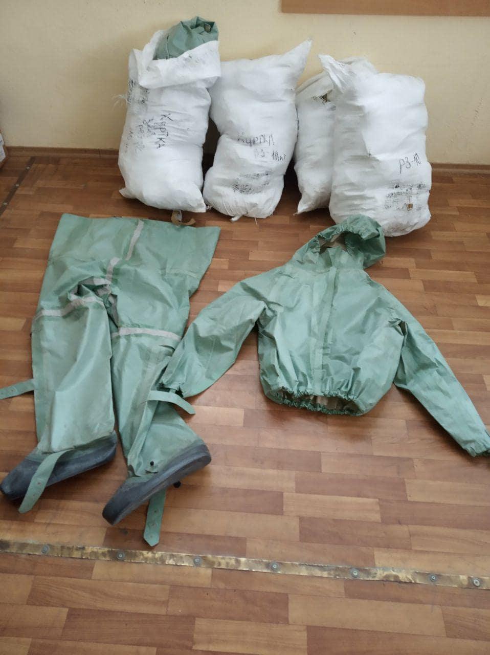 Партія Шарія Полтава придбала костюми для полтавських правоохоронців - фото