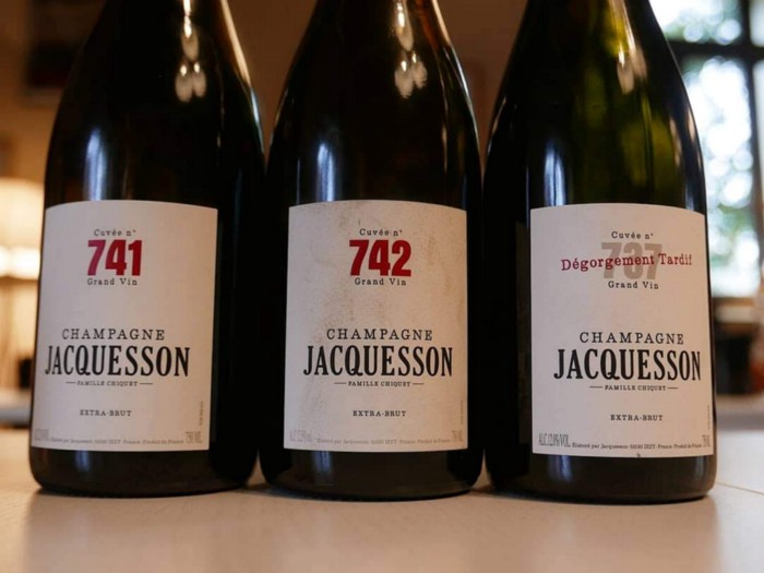 700 cuvees of Jacquesson