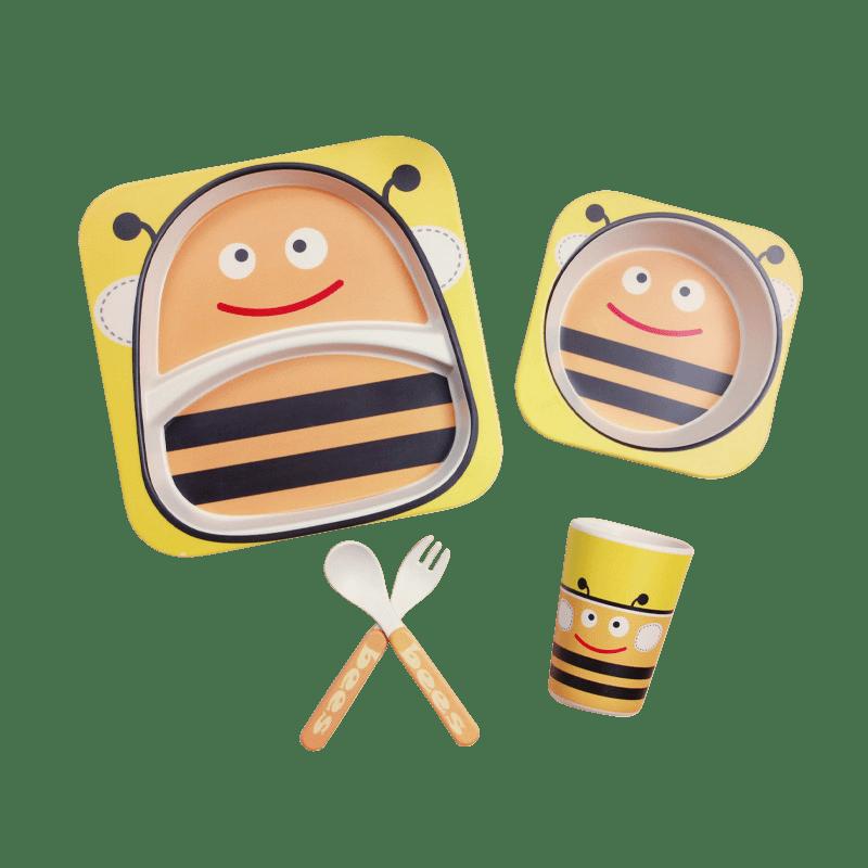 Набор посуды пчелка