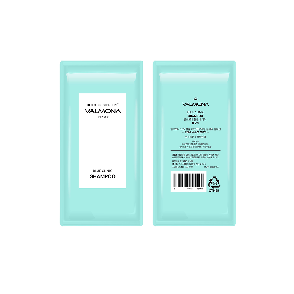 Купить VALMONA Recharge Solution Blue Clinic Shampoo, 10 ml, VLM011