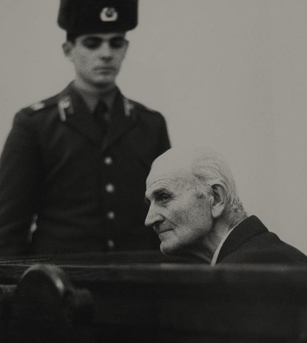 Григорий Васюра на скамье подсудимых Минск-1986