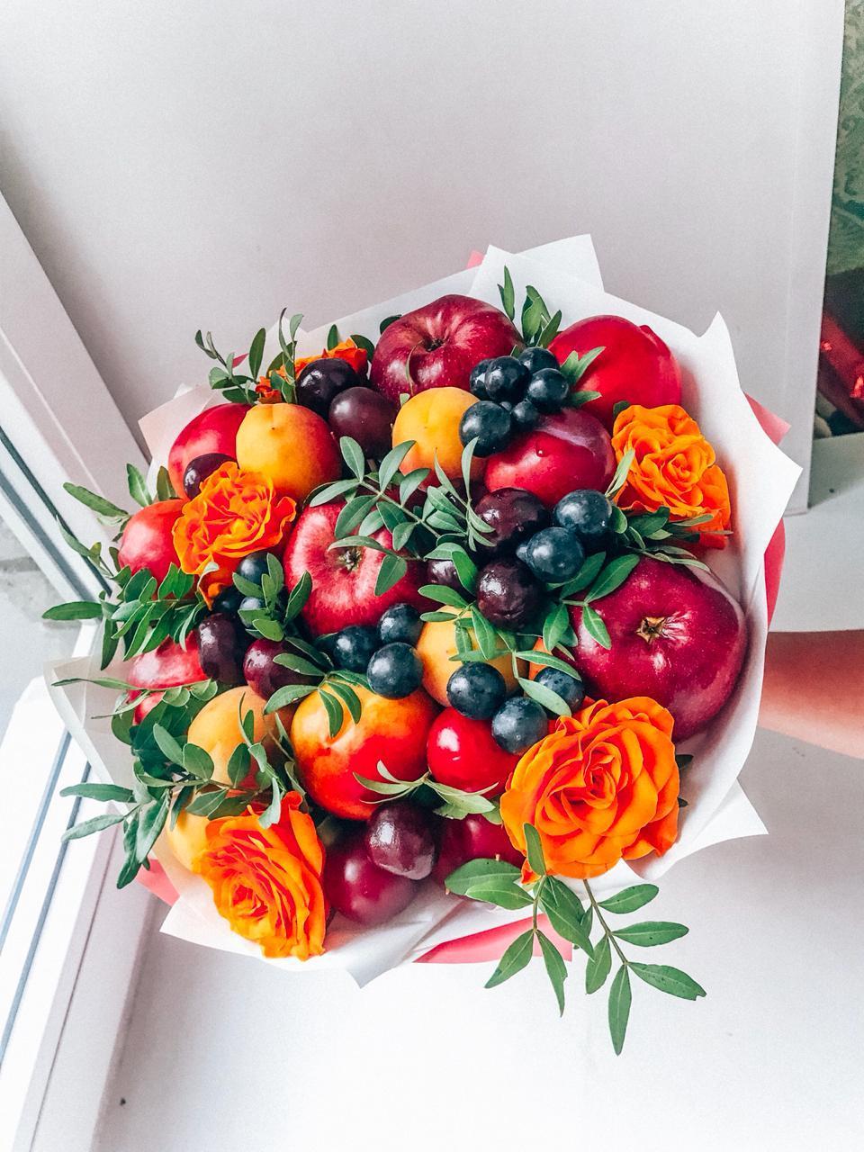 Для, название для деловых букетов из фруктовых