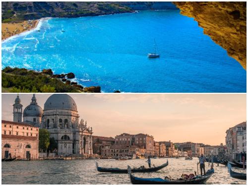 Мальта и Венеция в январе