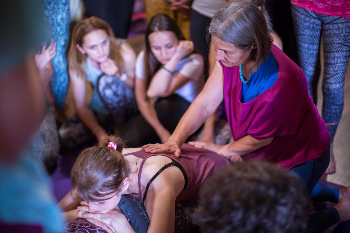 обучение инструкторов женской йоги