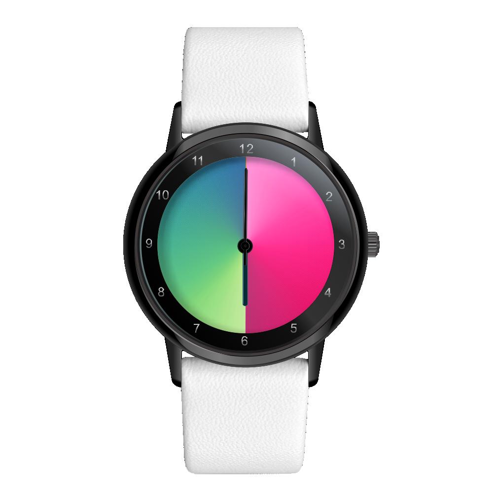 Rainbow Watch Black