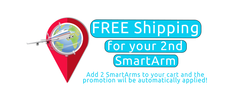 Free Shipping for your 2nd SmartArm