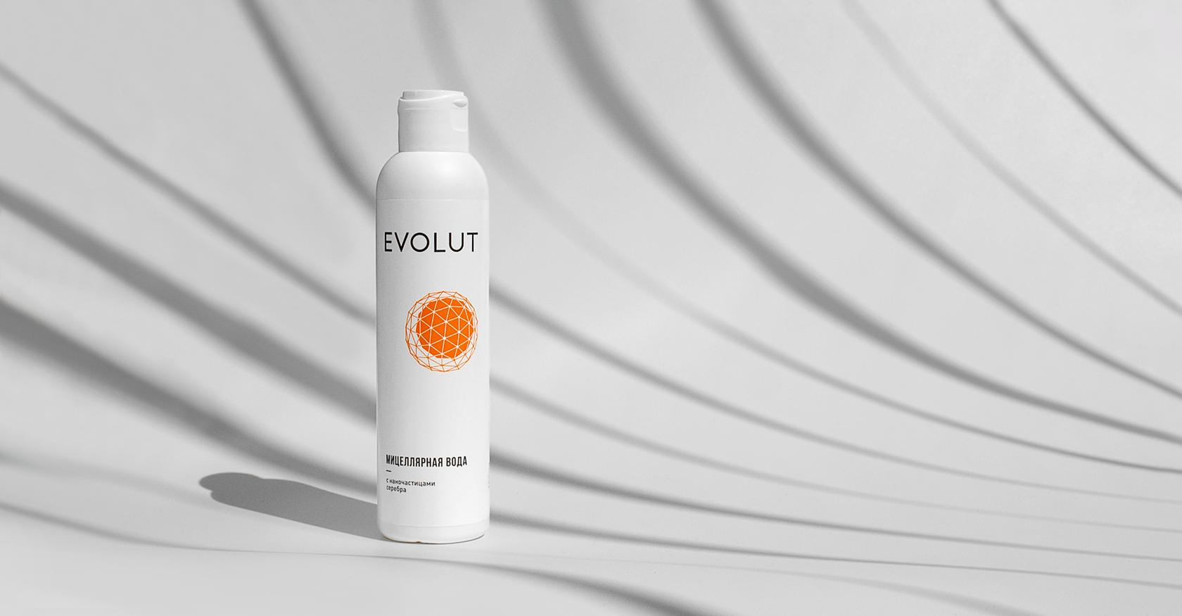 Мицеллярная вода EVOLUT для чувствительной кожи
