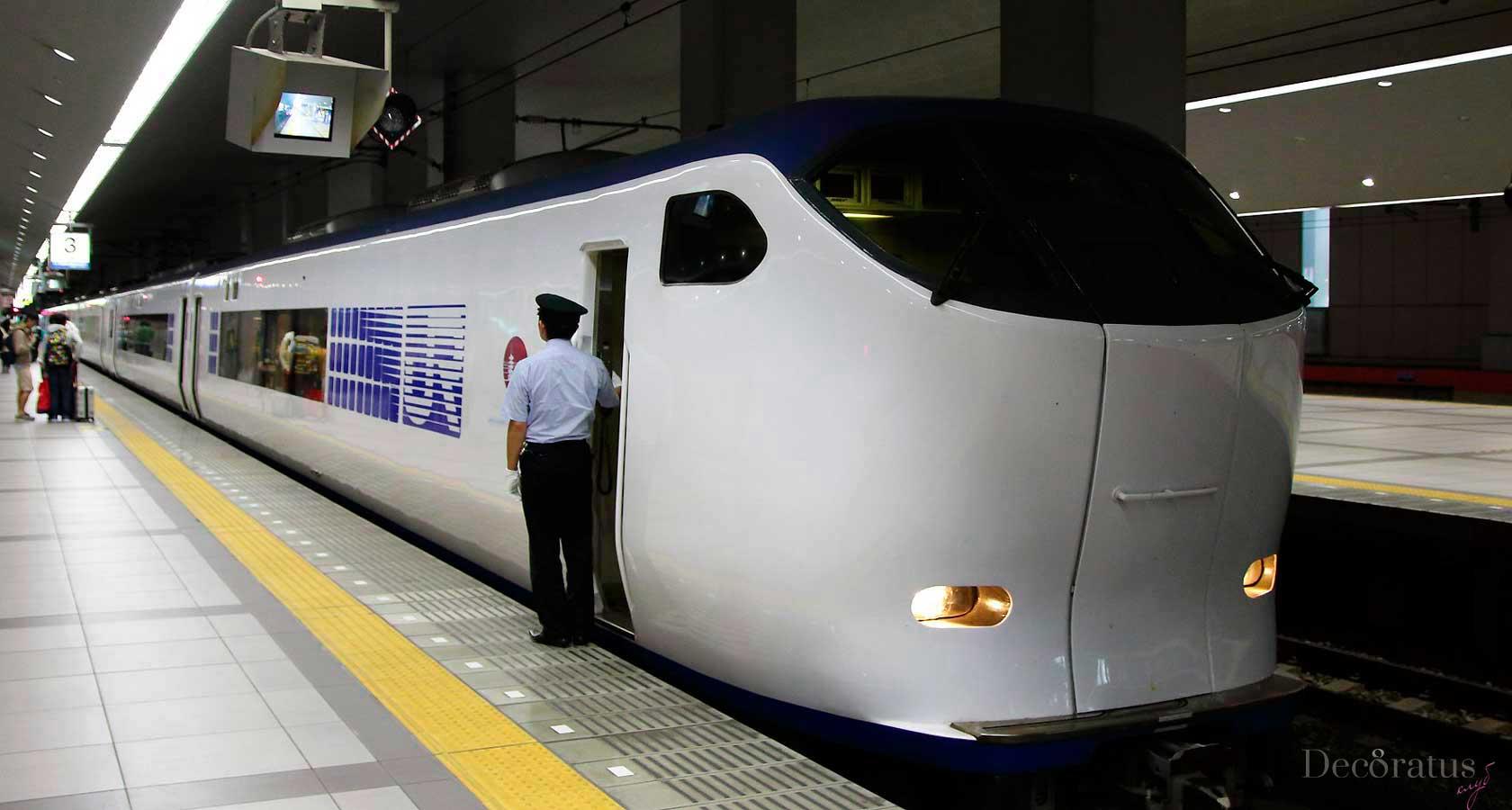 японский поезд экспресс харука в осаке