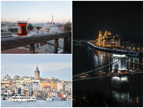 Стамбул и Будапешт в ноябре