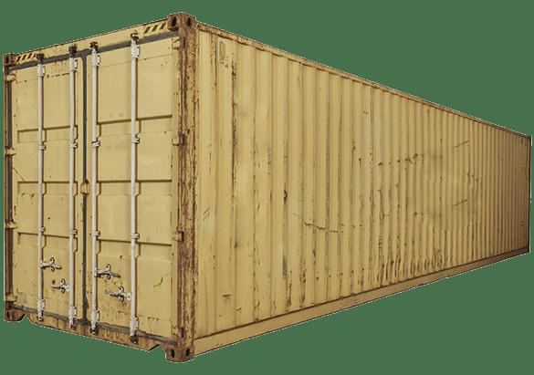 Б/У контейнер 40 футов широкий PW