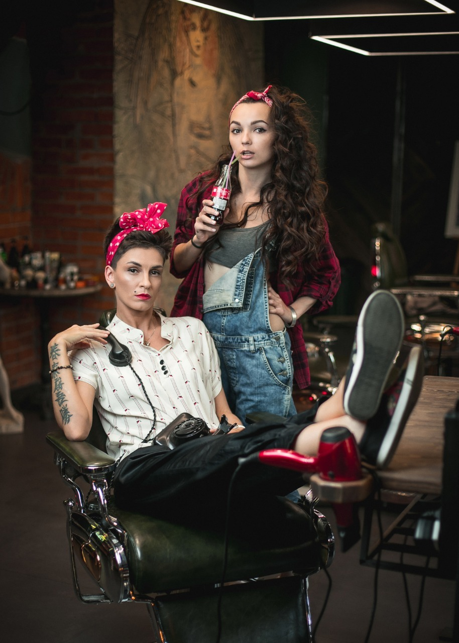 Lingerie russian barber girls