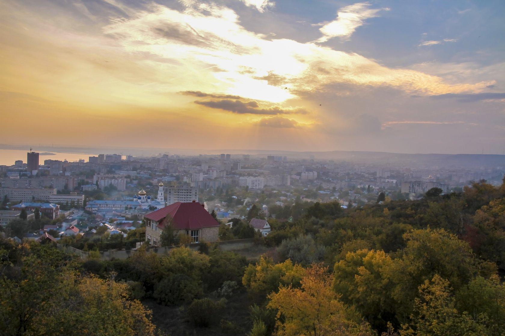 Панорама саратова картинки