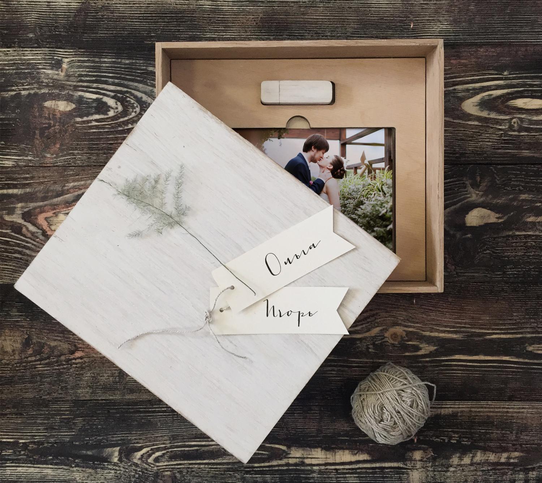 производство печати флешки для свадебных фотографов материала
