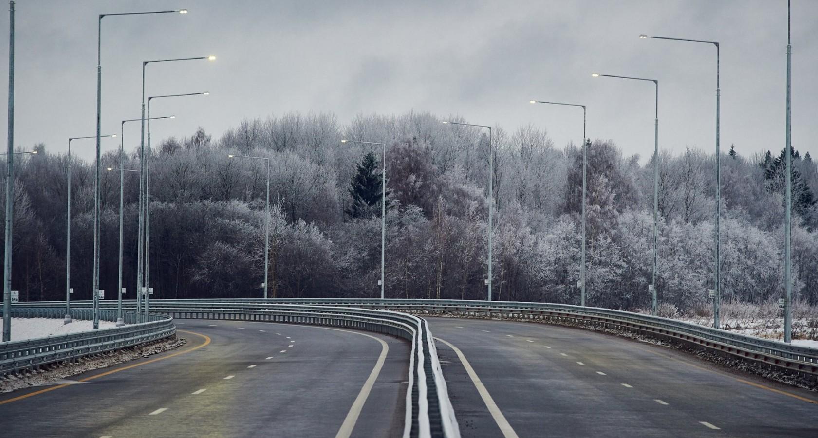 Полностью скоростная автомобильная дорога М-11 Москва — Санкт-Петербург будет сдана в эксплуатацию осенью 2018 года (фото: Минтранс)