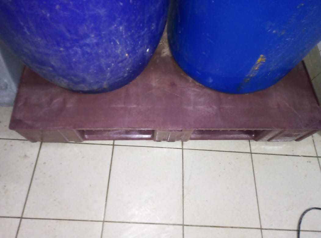 Уборка склада парогенератором