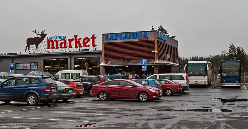 Магазин продуктов в Лаппеенранте Laplandia