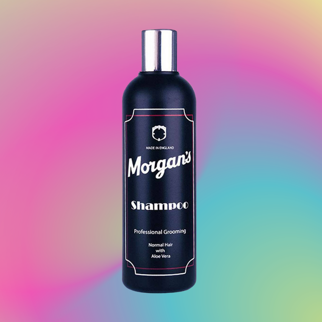 MORGAN'S<br />SHAMPOO