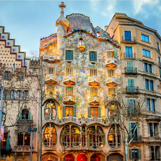 outstanding architect Antonio Gaudi