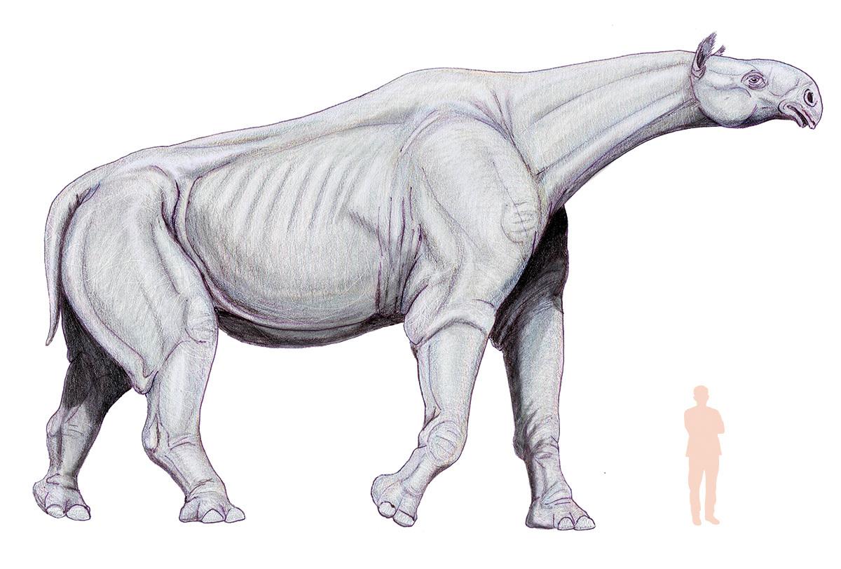 Индрик — мифический зверь, хозяин водных источников