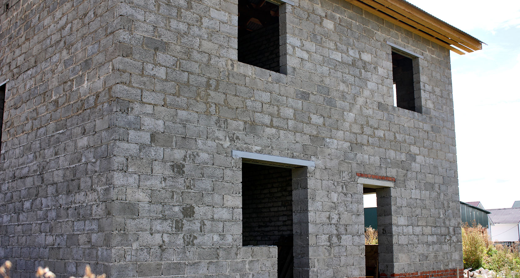 дом из пескоблока своими руками