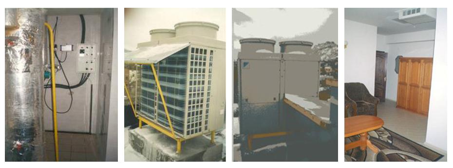 Установка вентиляционных агрегатов