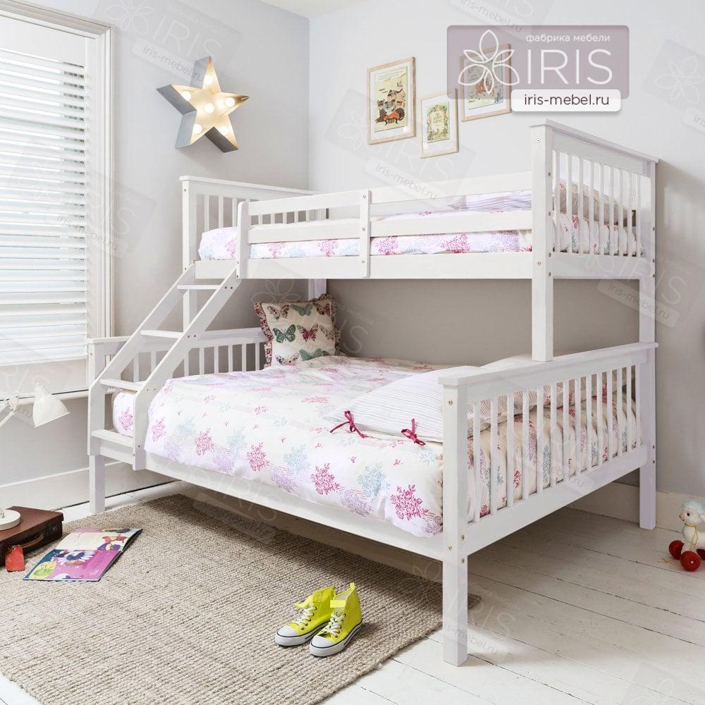 Двухъярусная кровать Синди