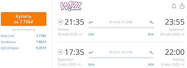 Казань - Будапешт - Казань